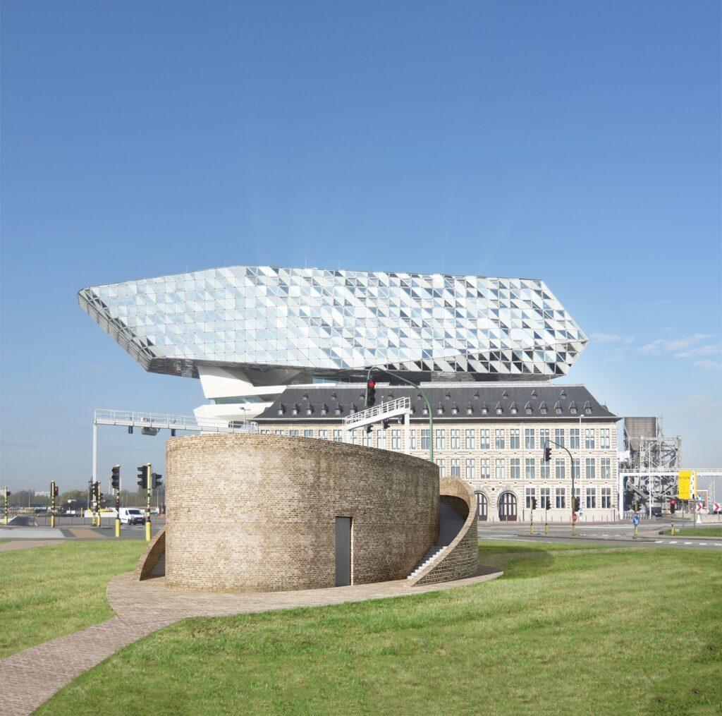 Tractiestation Staatsburgbrug, Van Belle & Medina Architects, (Foto: Van Belle & Medina Architects)