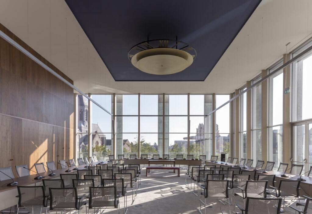Leiespiegel, Tony Fretton Architects, (Foto: Peter Cook)