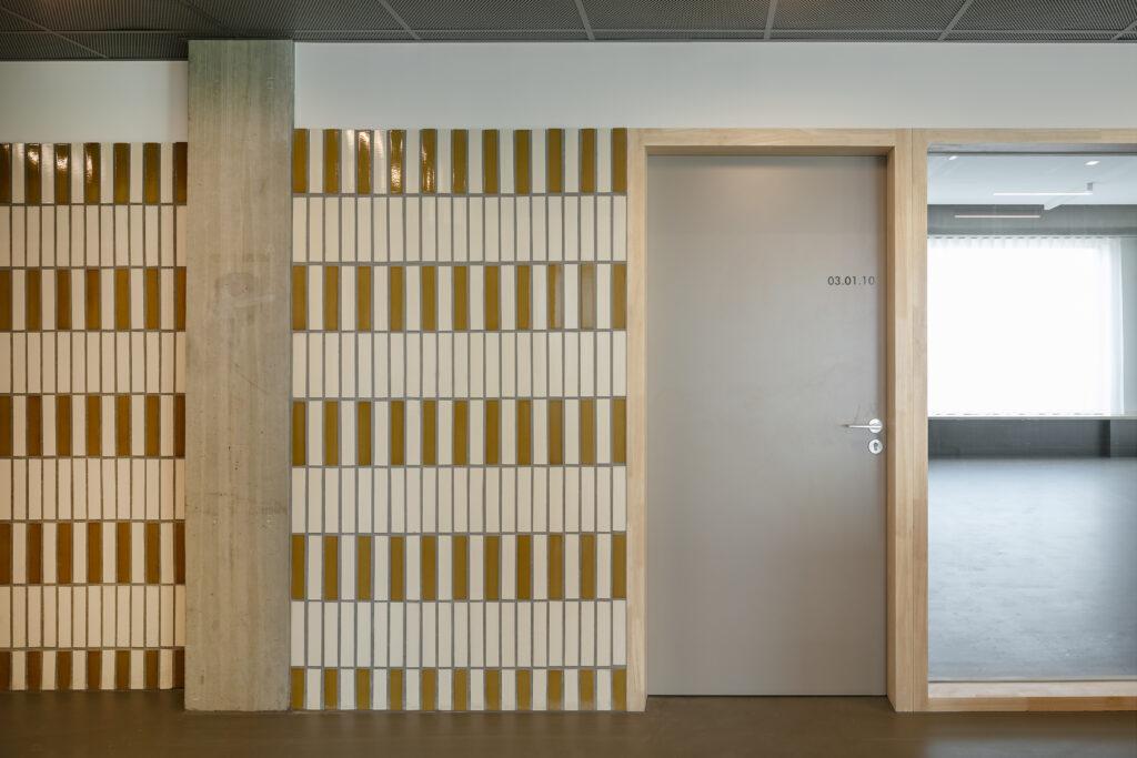Stedelijk Lyceum Cadix, Korteknie Stuhlmacher Architecten, (Foto: Luuk Kramer)