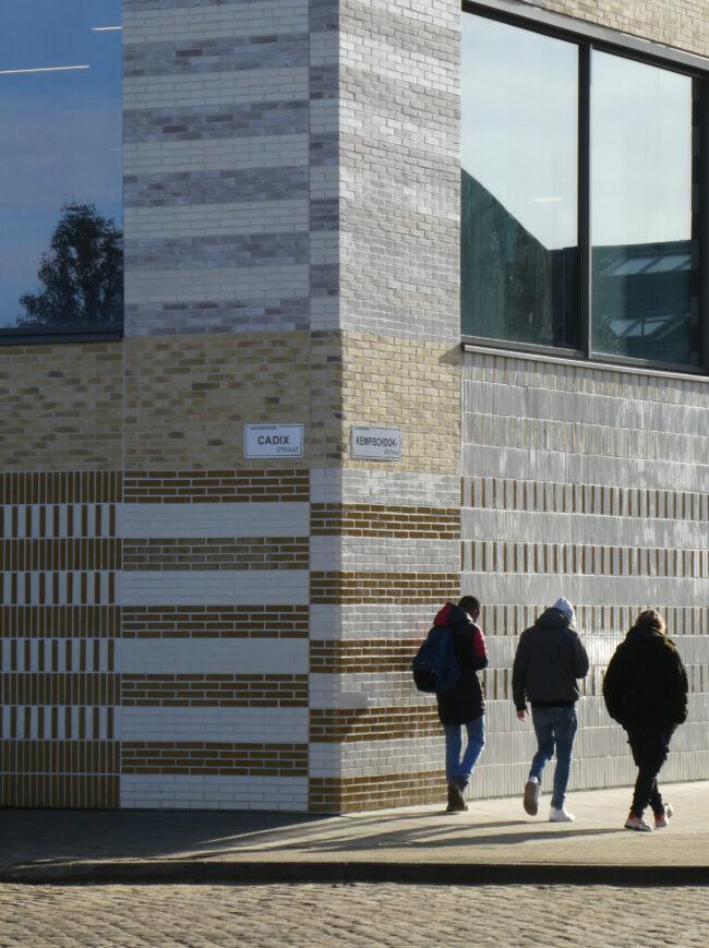 Stedelijk Lyceum Cadix, Korteknie Stuhlmacher Architecten, (Foto: Leon Verhoeven)