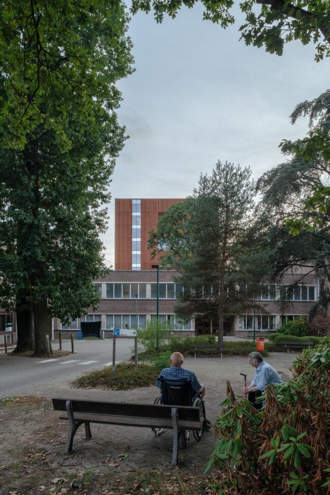 Therapietoren Pellenberg, WIT architecten, (foto: Dieter Van Caeneghem)